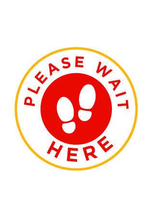 Please Wait Here