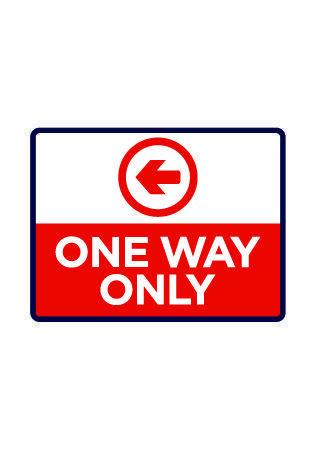 One Way Only Left